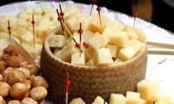 Daditos de queso curado de oveja