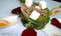 ensalada de guacamole