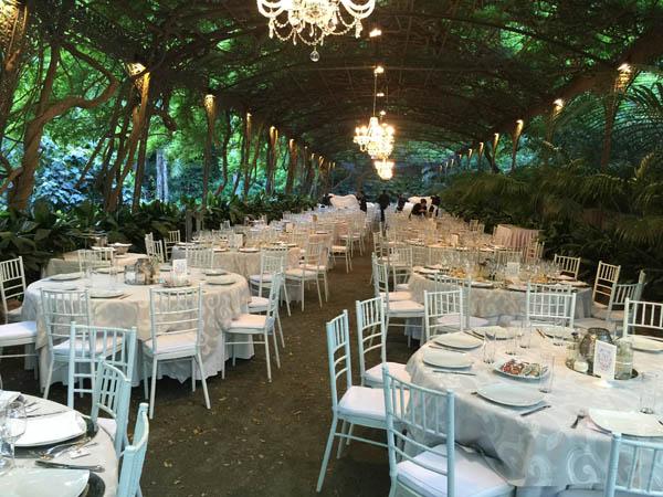 Haciendas catering para bodas fincas catering para bodas for Bodas jardin botanico malaga