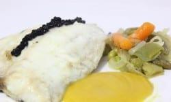 lomo de dorada con verduras