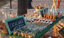 Salmorejos y ensaladas