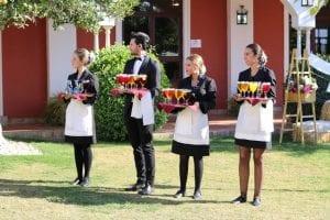 catering para celebración de bodas