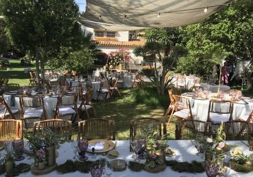 lugar donde celebrar una boda rústica