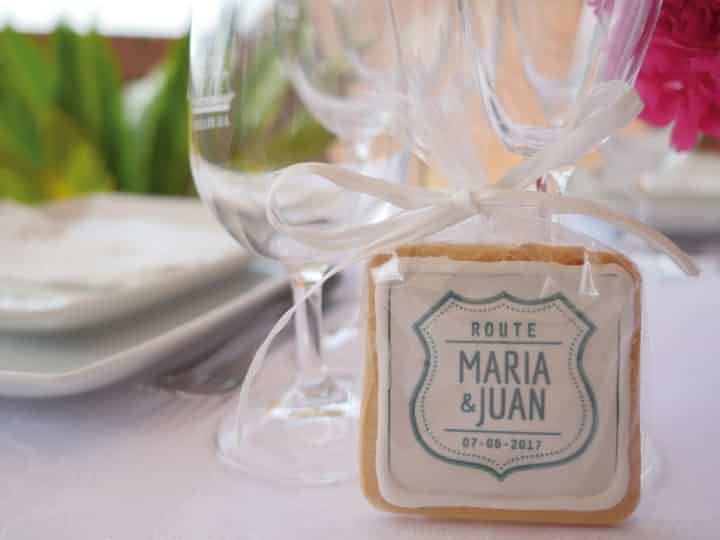 regalo para boda galleta