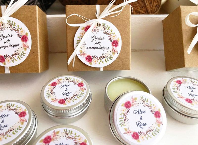 regalos para boda cremas
